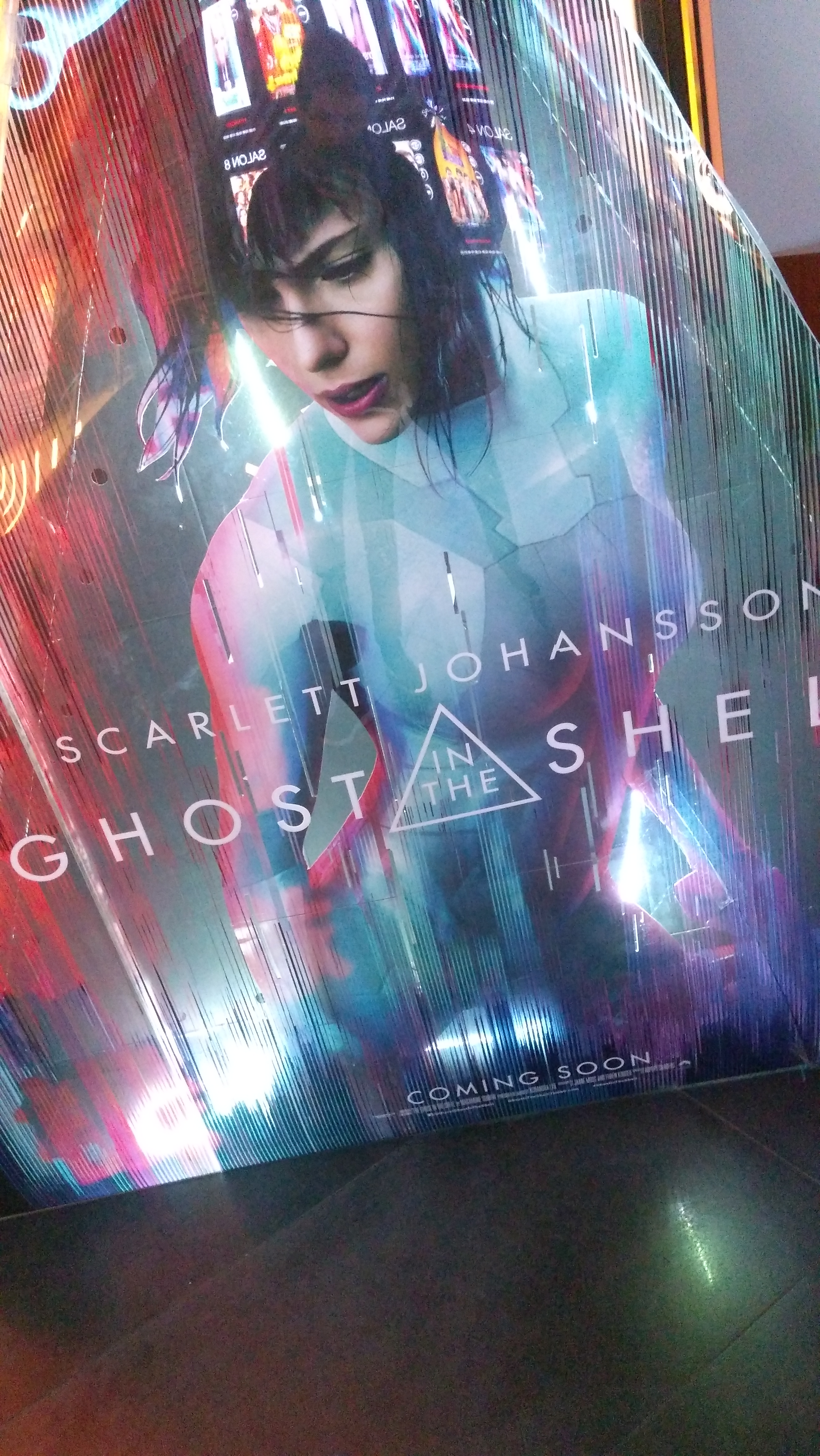 مراجعة – فيلم Ghost In The Shell LIVE ACTION 2017 – فيلم أنمي آخر